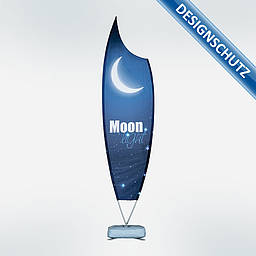 Bowflag® Premium in Moon Form